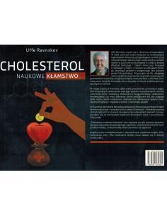 Książka bestseller UFFE RAVNSKOV CHOLESTEROL NAUKOWE KŁAMSTWO