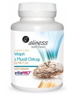 Wapń K2 D3 100 tabletek Aliness