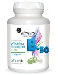 Witamina B 50 compleks 100kaps Aliness