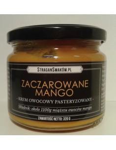 ZACZAROWANE MANGO - KREM OWOCOWY PASTERYZOWANY 320 g