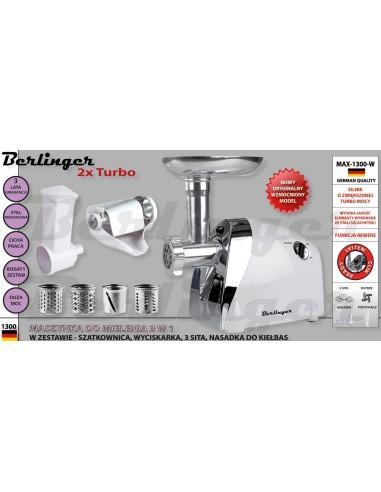 Berlinger - MASZYNKA DO MIELENIA MAX-1300-W