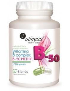 aliness witamina B complex B-50 METHYL 100 kaps.
