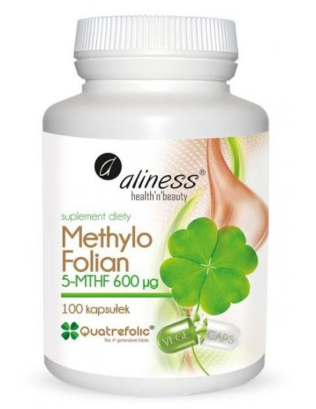 aliness Methylo Folian 100 kaps.