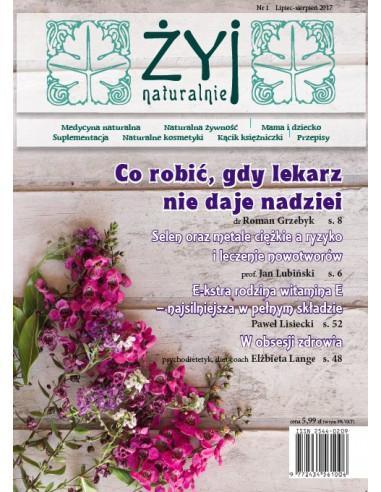 ŻYJ NATURALNIE czasopismo VII-VIII 2017