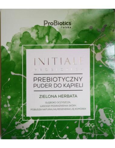 Prebiotyczny puder Zielona Herbata 30 g do kąpieli