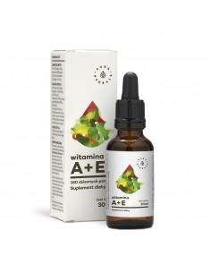 Witamina A+E Forte krople 30 ml Aura