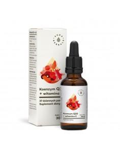Koenzym Q10+witamina E - 30 ml Aura Herbals