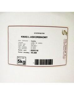 Kwas L askorbinowy CZDA 5 kg witamina C