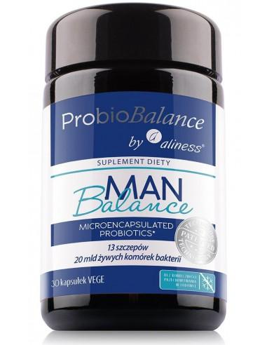 ProbioBALANCE, Man Balance 20 mld. x 30 vege caps. aliness