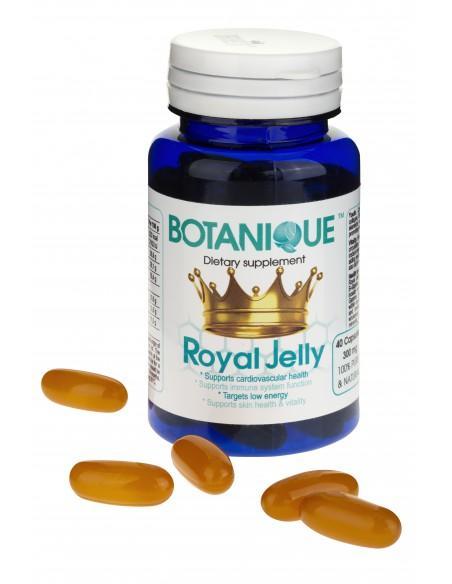 Royal Jelly Organic Mleczko pszczele 40 kap. Botanique