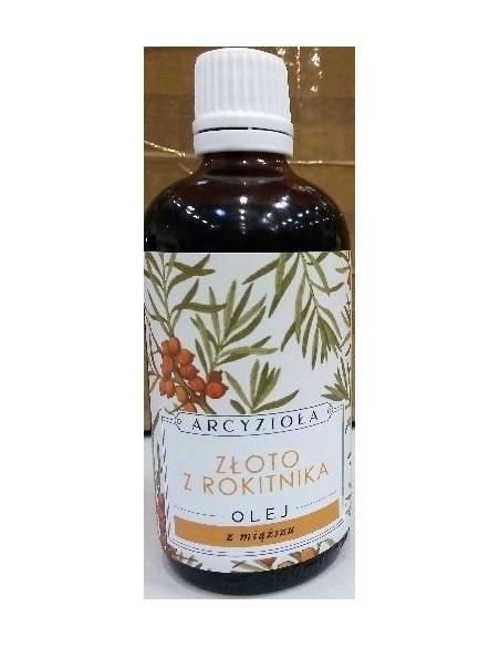 Olej z miąszu owoców Rokitnika 100 ml