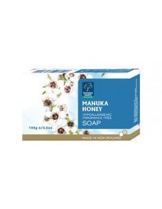 Kremowe mydło marki Manuka Health zawiera unikatowy Miód Manuka MGO™ 250+